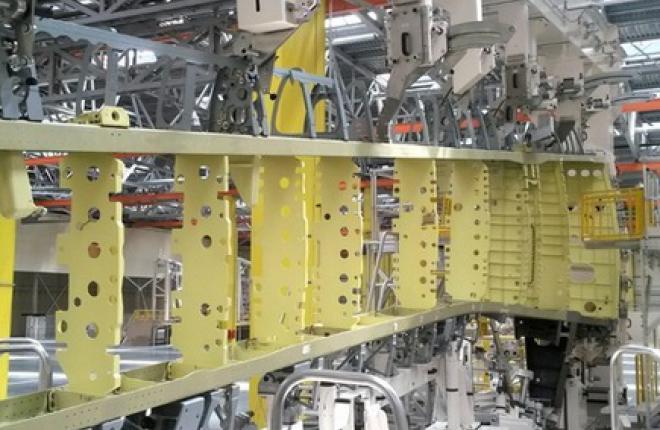 Для кессона крыла МС-21 собрали носовую и хвостовую части