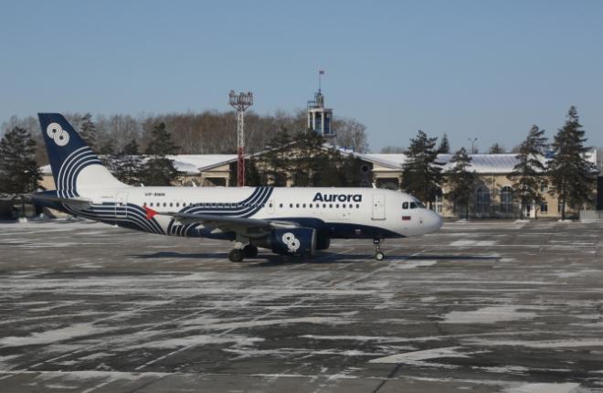 """Парк авиакомпании """"Аврора"""" пополнился двумя самолетами Airbus A319"""