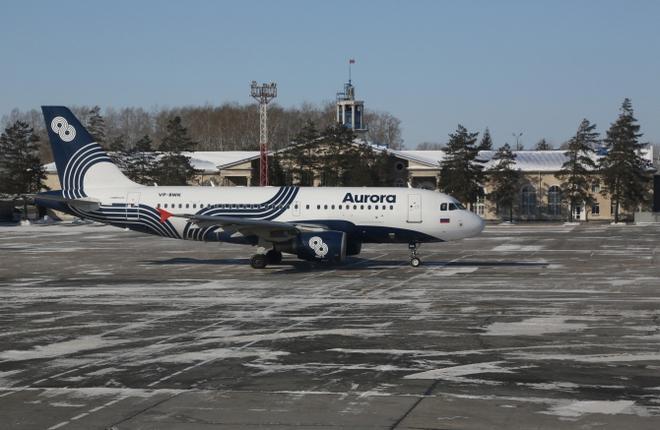 """Авиакомпания """"Аврора"""" завершила формирование парка самолетов A319"""