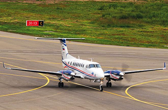 King Air 350i стал  лабораторией