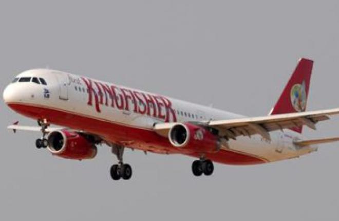Сертификат авиакомпании Kingfisher Airlines приостановлен