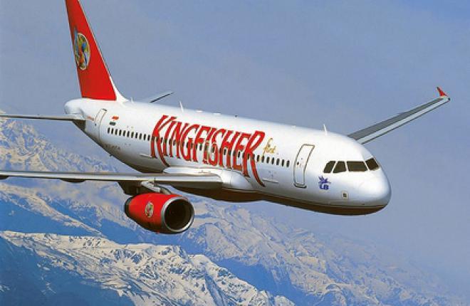 Борясь за выживание, Kingfisher Airlines эксплуатирует только часть своего флота