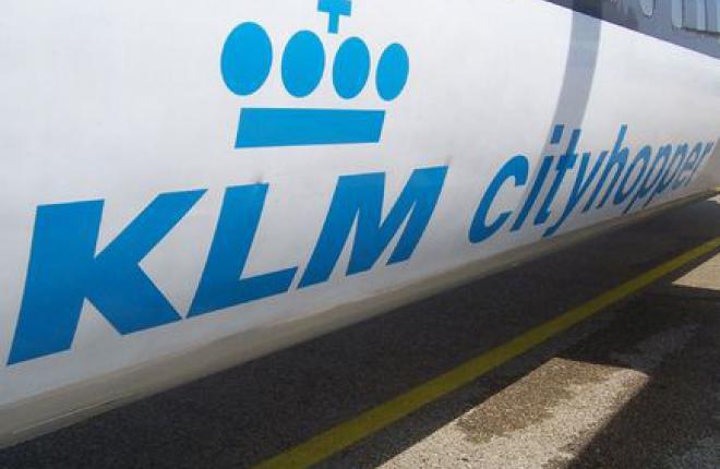 Авиакомпания KLM передаст европейские рейсы дочернему авиаперевозчику Cityhopper