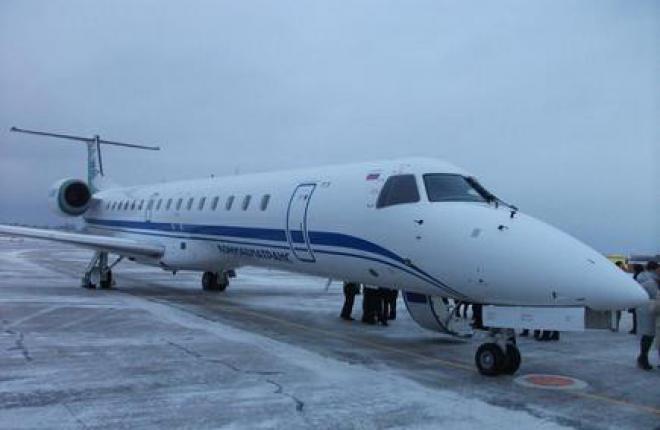"""Авиакомпания """"Комиавиатранс"""" получила первый Embraer ERJ145LR"""