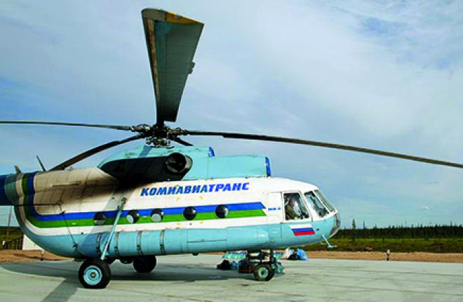 The company's Mi-8 fleet logged 14,200 flying hours in 2014
