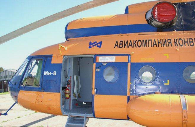 """Конверс Авиа"" вертолет Ми-8"