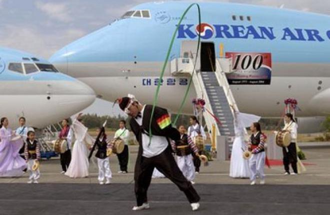 Россия и Корея снимают ограничения на воздушное сообщение