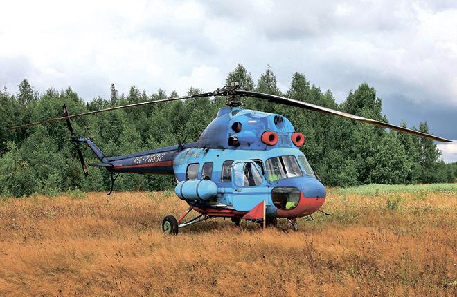 Морально устаревшим  вертолетам Ми-2 требуется современная замена
