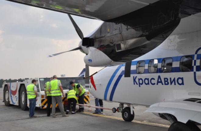 """Авиакомпания """"КрасАвиа"""" получила первый самолет L-410"""