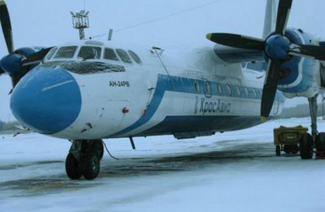 "Авиакомпания ""КрасАвиа"" увеличила объем перевозок на 44% за 8 месяцев 2011 г."