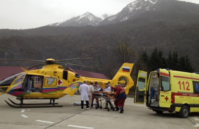 Медицинский вертолет Eurocopter EC135 спас более 400 человек