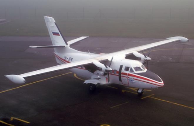 Aircraft Industries приступила к поставкам L-410 в Краснокутское летное училище