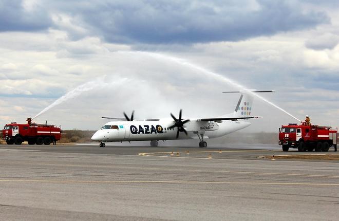 Qazaq Air анонсировала первый международный рейс