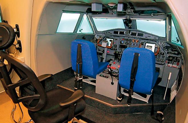 отечественные операторы по-прежнему довольствуются всего одним комплексным тренажером самолета.