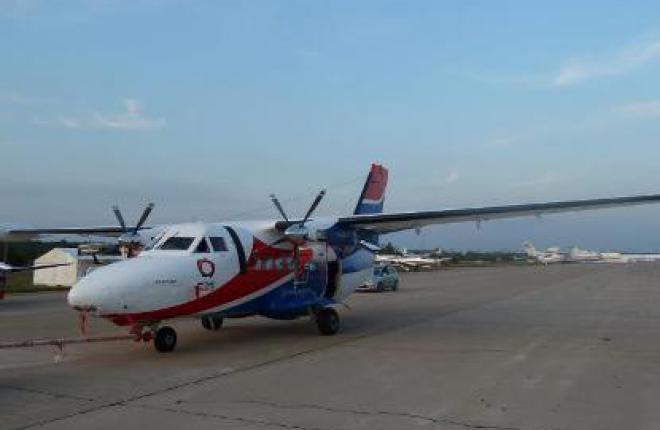 К 2015 г. выпуск самолетов L-410 UVP Е20 возрастет до 24 машин ежегодно