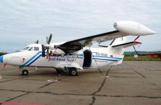 Авиакомпания «КрасАвиа» полетела на L-410