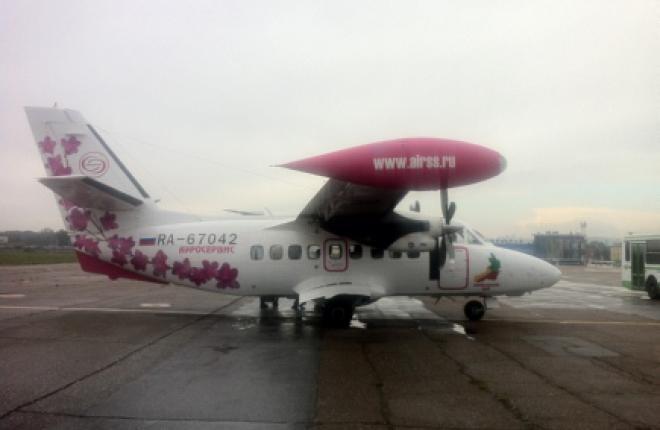 """Авиакомпания """"Аэросервис"""" запустила межрегиональный рейс"""