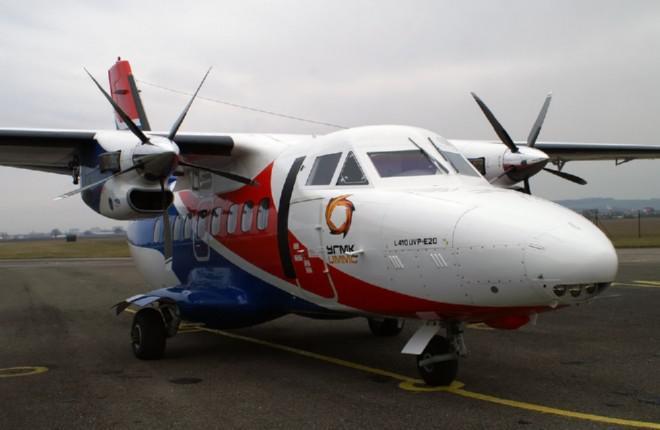 """Деловой авиаперевозчик """"Уктус"""" получил второй самолет L-410UVP-E20"""