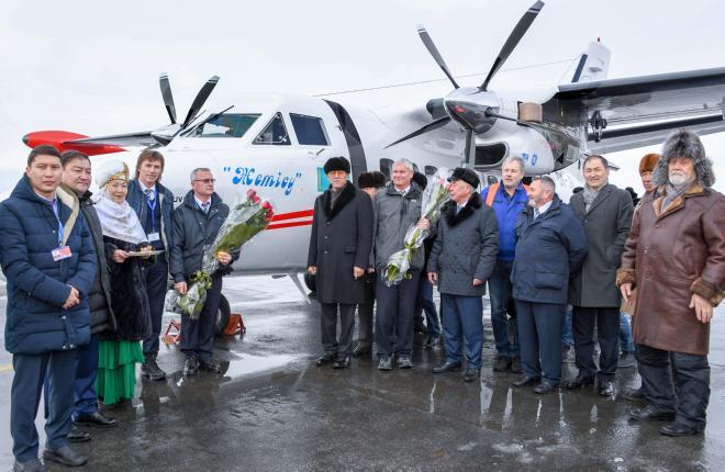 """Казахстанская авиакомпания """"Жетысу"""" получила два L-410UVP-E20"""