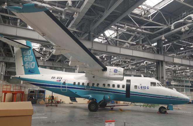На базе L-610 в России создадут новый 40-местный самолет