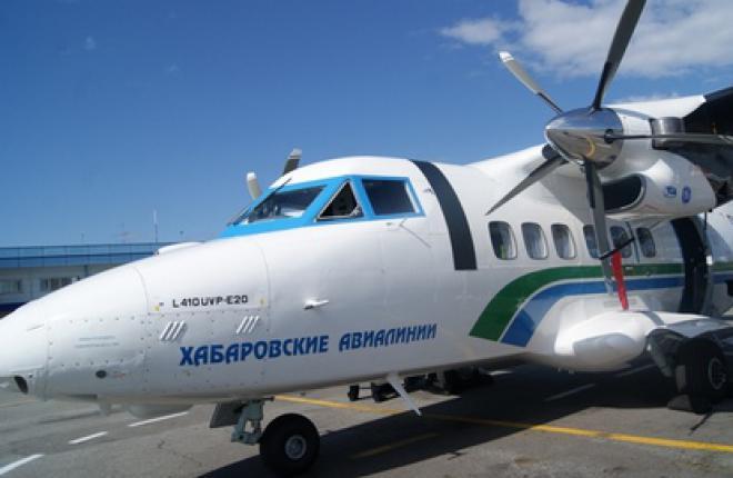 """Авиакомпания """"Хабаровские авиалинии"""" получила два чешских самолета L-410 УВП-Е20"""
