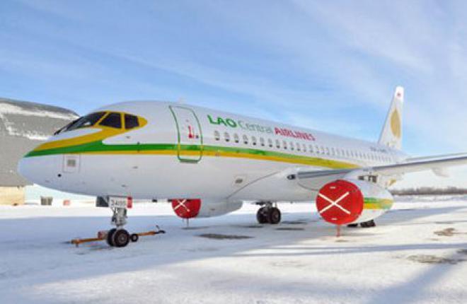 Управделами президента РФ купило построенные для лаосской авиакомпании Lao Central два самолета SSJ 100