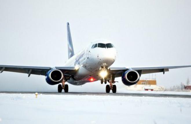 """Авиакомпания """"Якутия"""" заказала еще три самолета SSJ 100"""
