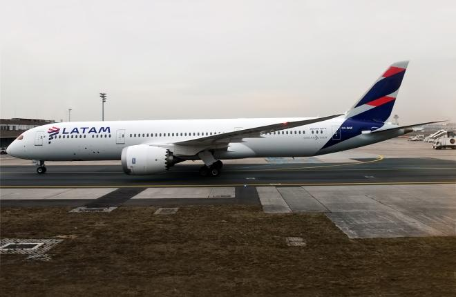 A320 LATAM Airlines
