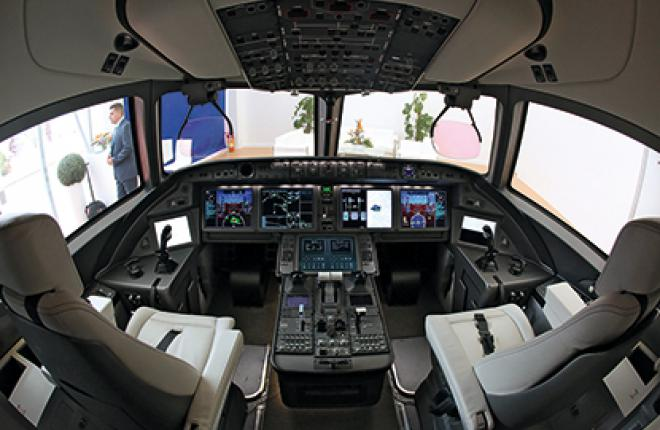 The MC-21 avionics suite will include many Russian-designed subsystems