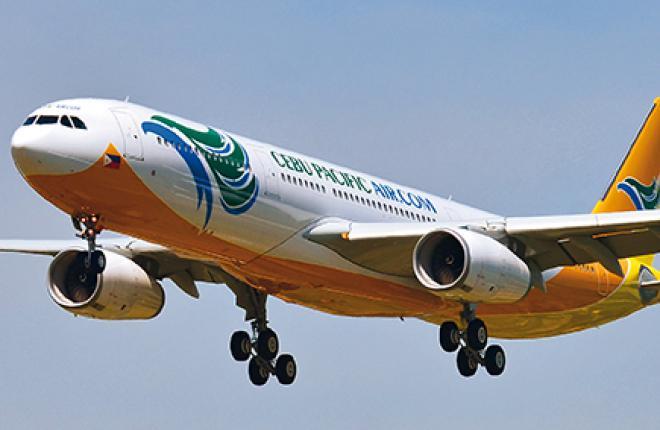Филиппинская Cebu Pacific эксплуатирует самолеты Airbus A330 в сверхплотной моноклассной компоновке на 436 кресел
