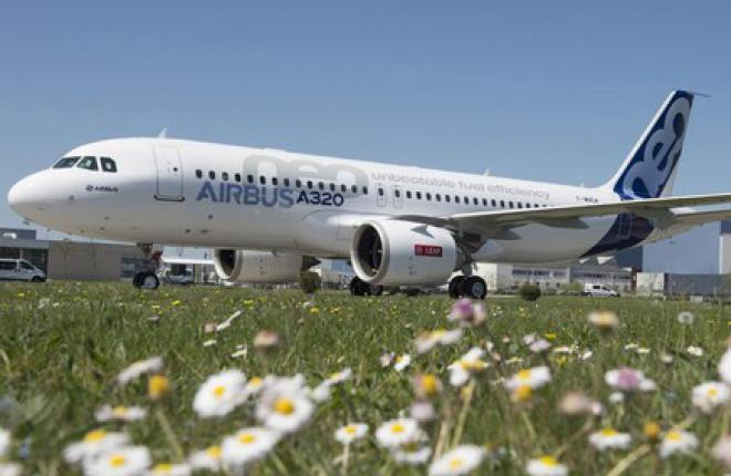 Airbus выкатил первый прототип A320NEO с двигателями CFM LEAP-1A