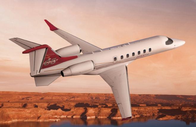 Bombardier анонсировала запуск производства делового самолета Learjet 85