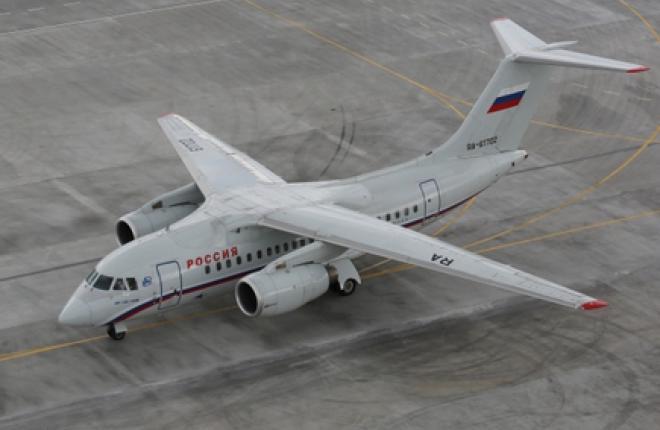 Авиакомпания «Россия» приостановила эксплуатацию самолетов Ан-148