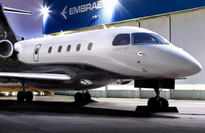 Embraer анонсировал версию бизнес-джета Legacy 450 с увеличенной дальностью полета