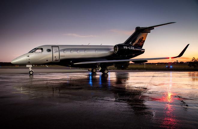 У бизнес-джета Embraer Legacy 450 увеличили дальность полета