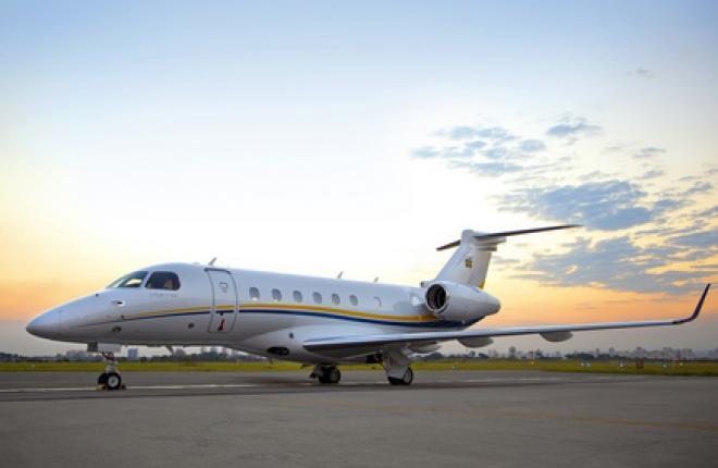 Embraer поставил первый бизнес-джет Legacy 500