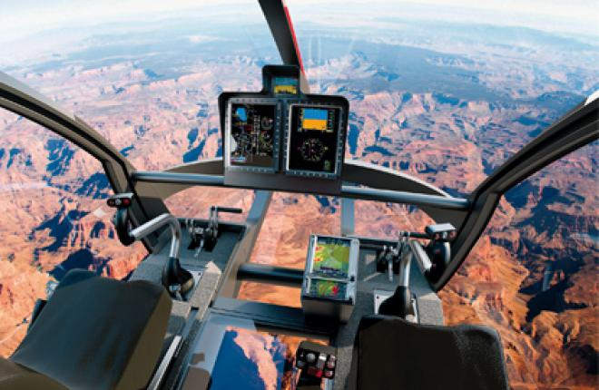 Кабина вертолета Marenco Swisshelicopter SKYe обеспечивает максимальный обзор