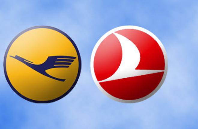 Авиакомпания Lufthansa отказывается от код-шеринга с Turkish Airlines