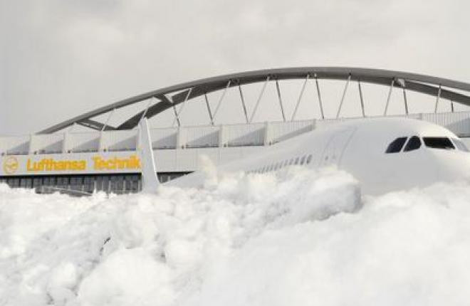 """Lufthansa Technik будет обслуживать самолеты авиакомпании """"Алроса"""""""
