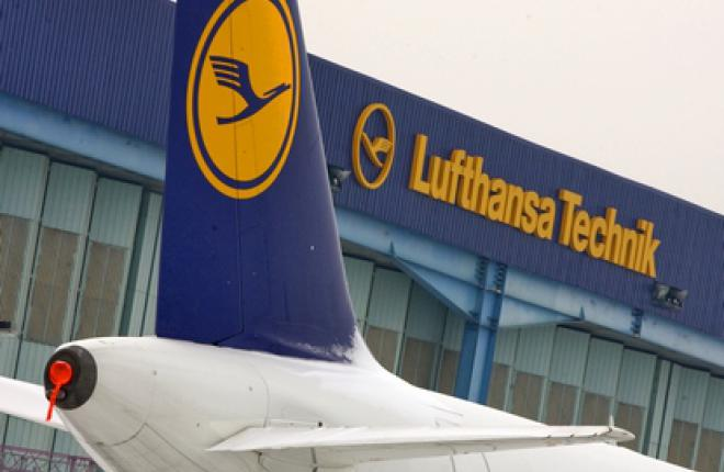Выручка Lufthansa Technik по итогам 2011 года составила 4,1 млрд евро