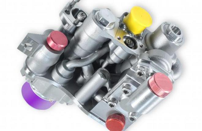Корпус клапана гидравлического привода для A380