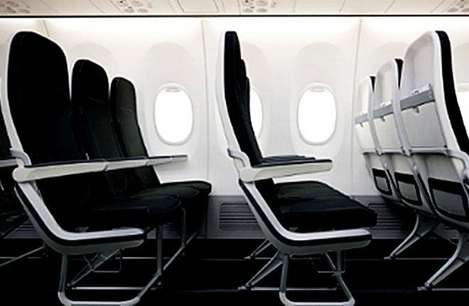 Boeing принял участие в разработке кресел для узкофюзеляжных самолетов
