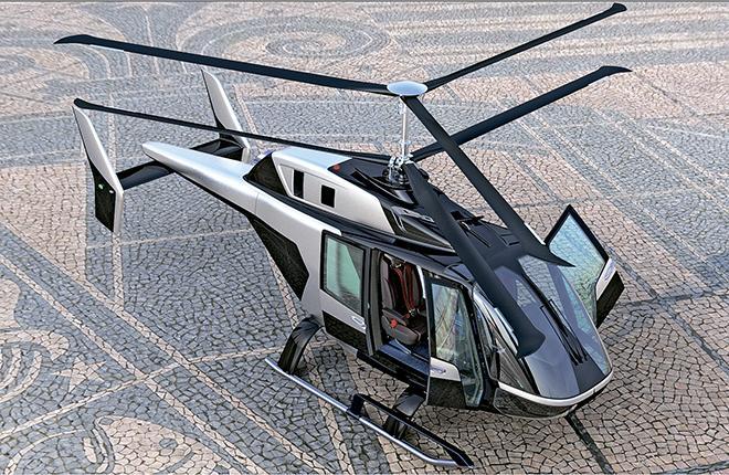 Вертолет VRT500 будет выполнен по соосной схеме без хвостового рулевого винта