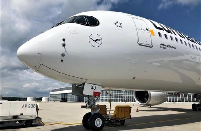 Airbus A350 авиакомпании Lufthansa