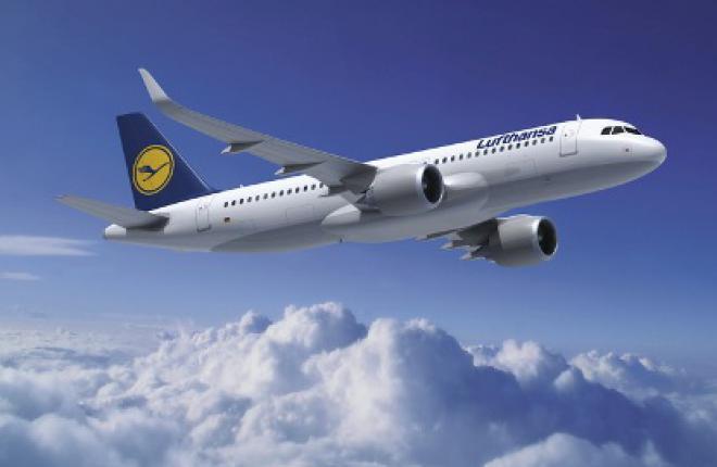 Группа компаний Lufthansa приобретает 100 самолетов семейства Airbus A320