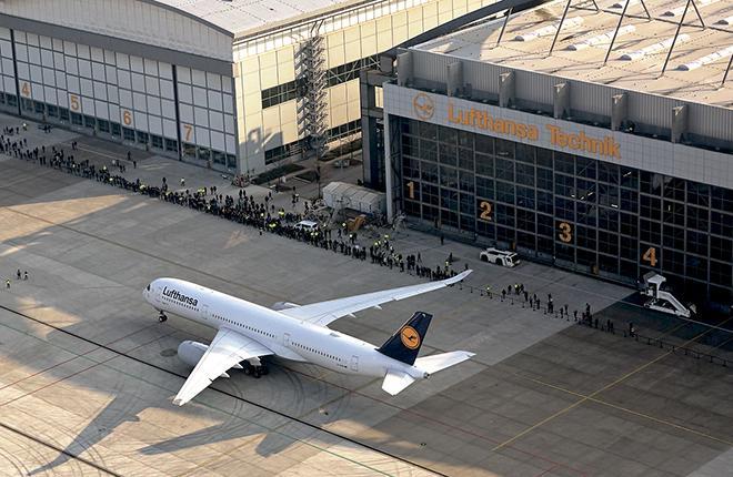Lufthansa Technik готова обслуживать А350