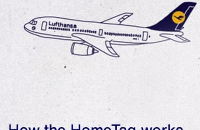 Пассажиры Lufthansa могут самостоятельно печатать багажные бирки