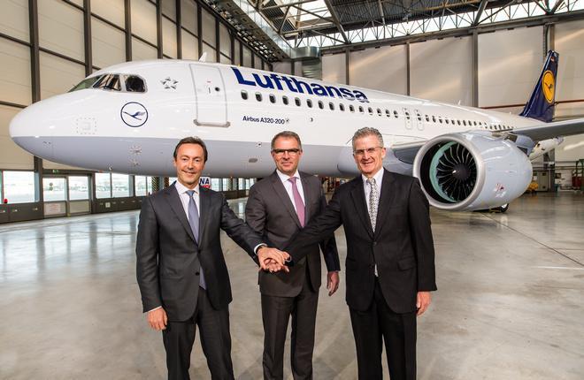 Состоялась первая в мире поставка самолета A320neo