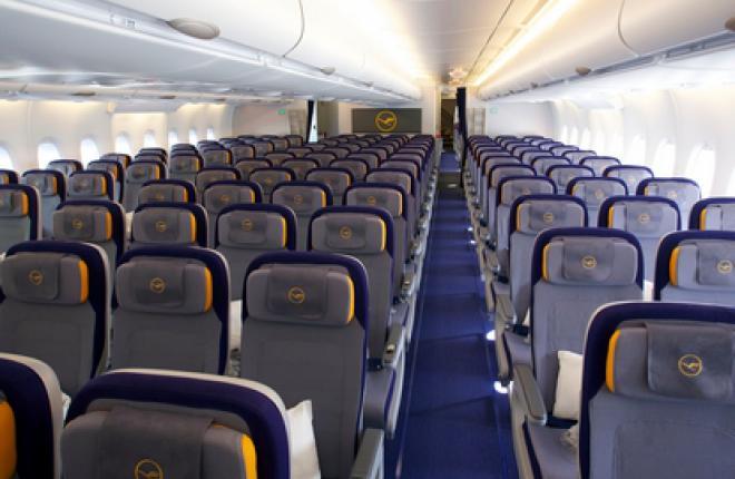 Lufthansa перевезла 1,9 млн пасс. из России и СНГ в 2010 г.