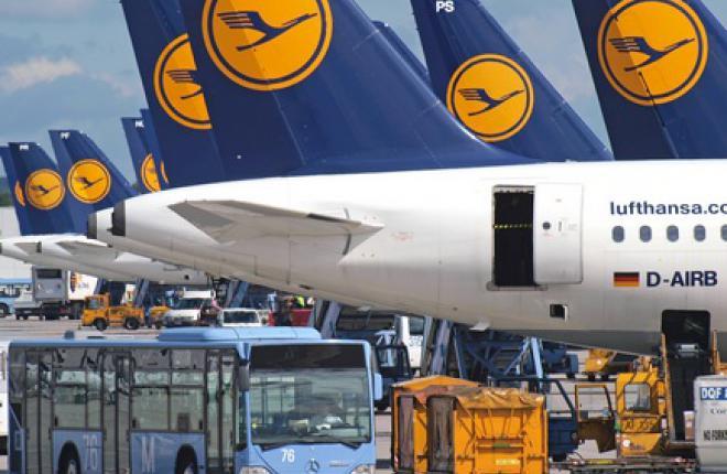 Из-за забастовки пилотов Lufthansa отменила все рейсы в Россию